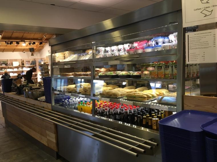 food at Gullfoss