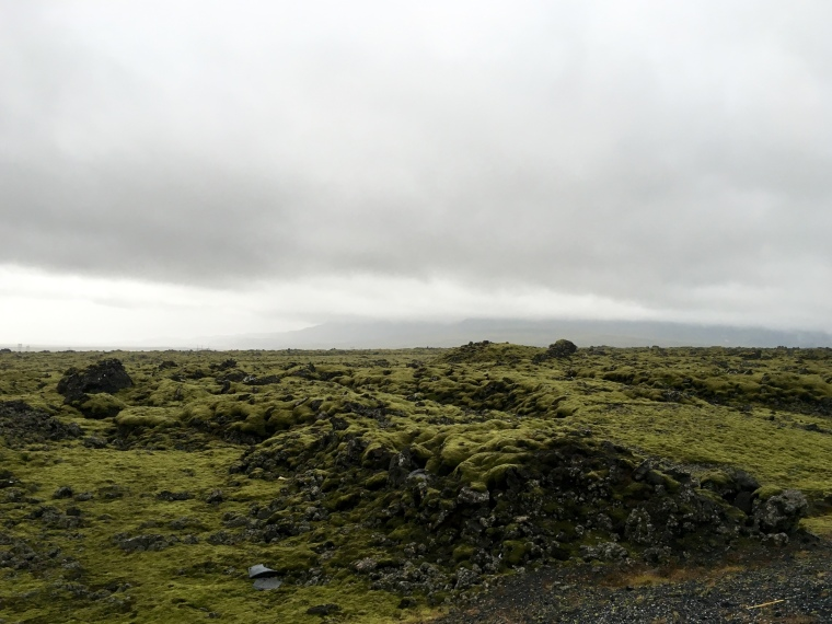 the surreal landscape of Iceland along The Golden Circle