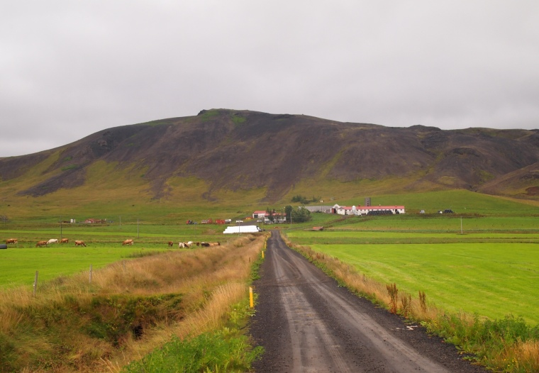 a farmhouse along the Golden Circle