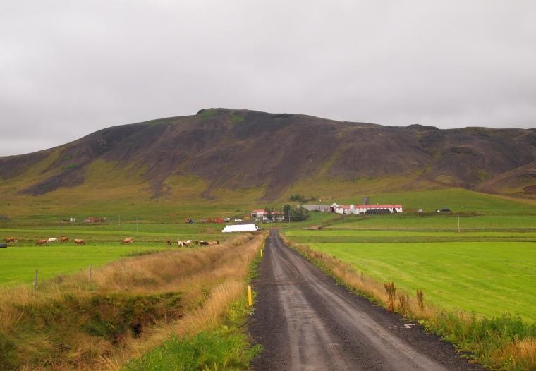 a farmhouse along the Golden Circle