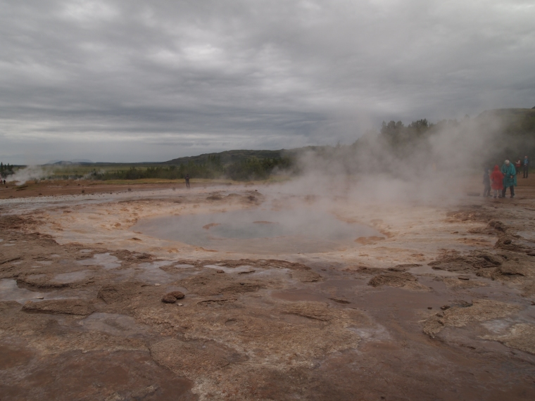 at the Geysir site