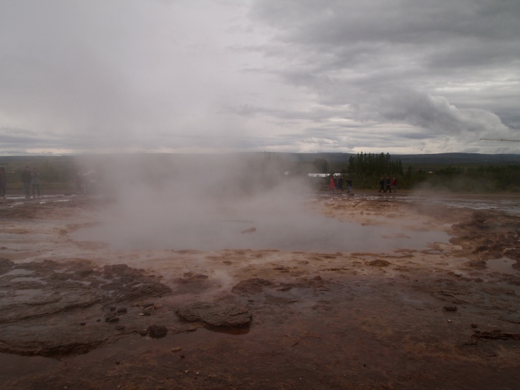 at Geysir