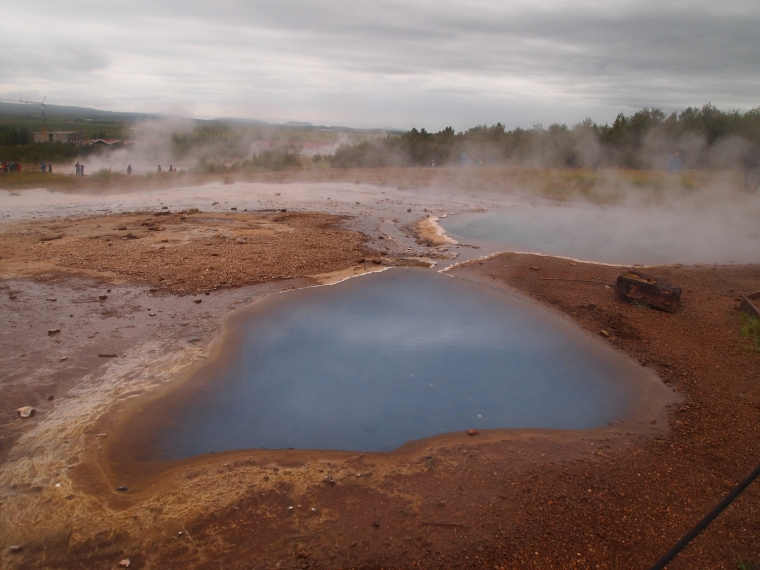 another hot pool at Geysir