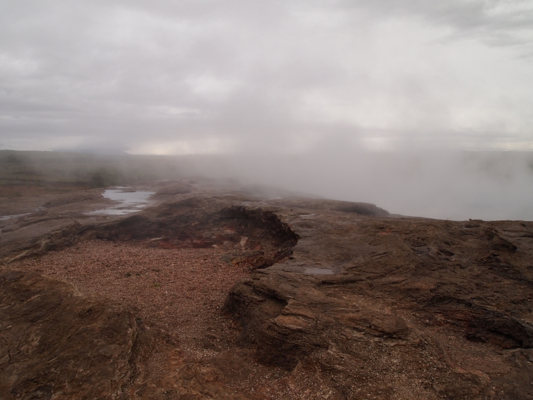 landscape at Geysir