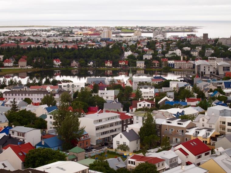 view of Tjörnin