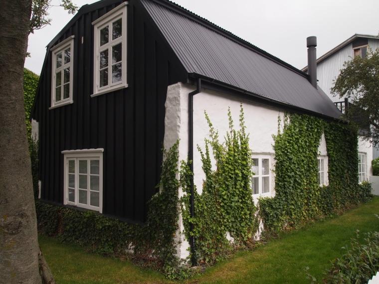 house in Reykjavik