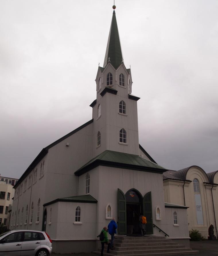 church near Tjörnin
