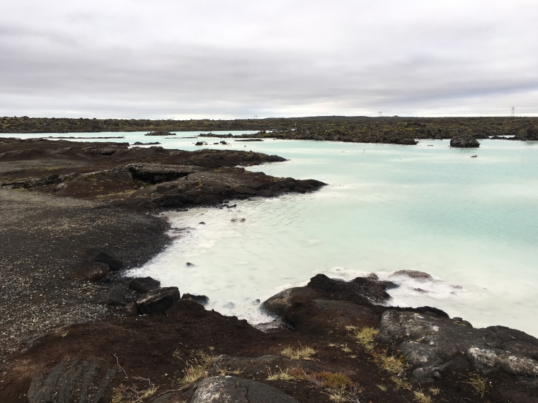 Blue Lagoon surrounds