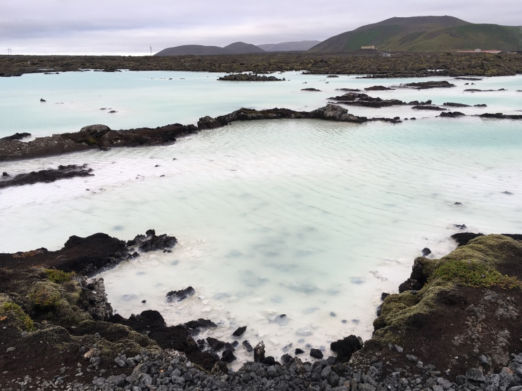 natural pools at Blue Lagoon