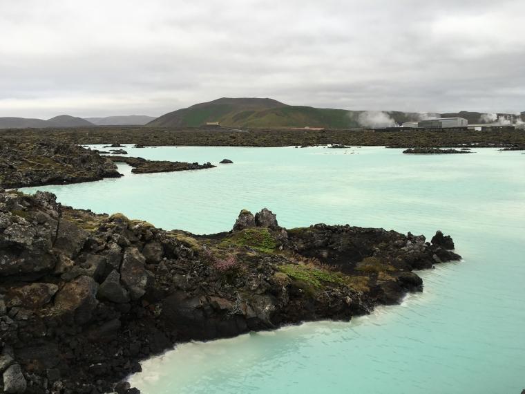 natural pools at Blue Lagoon