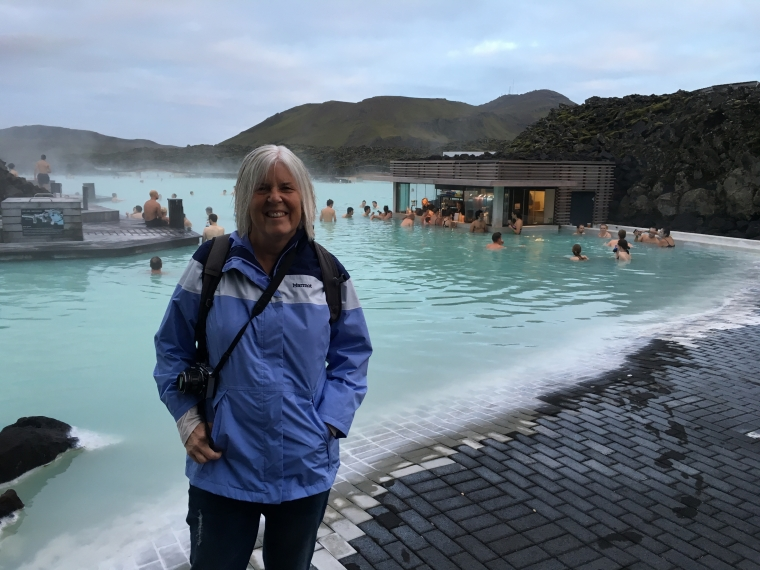 me at The Blue Lagoon
