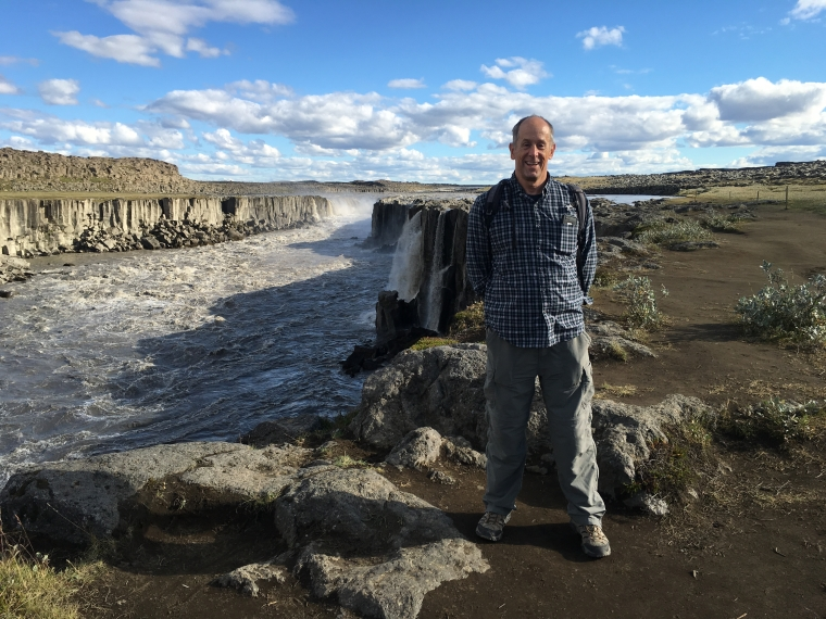 Mike at Selfoss