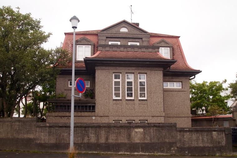 buildings in Old Reykjavik