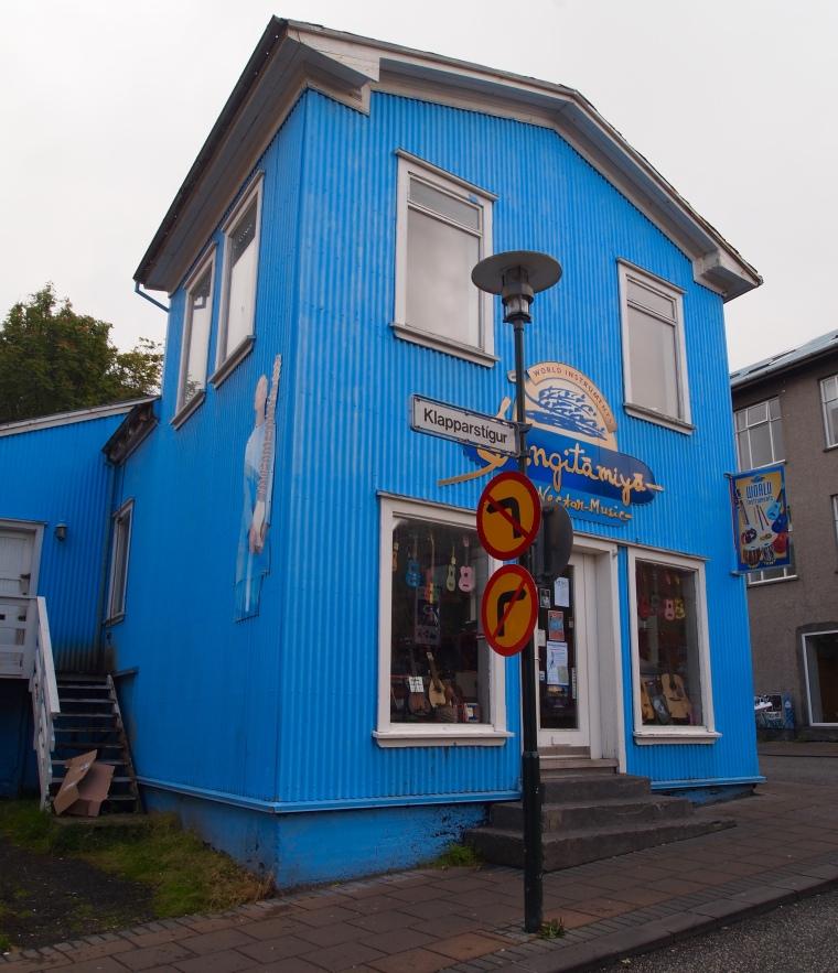blue music store