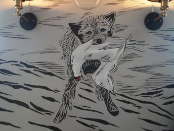 artwork at Icelandic Tapas