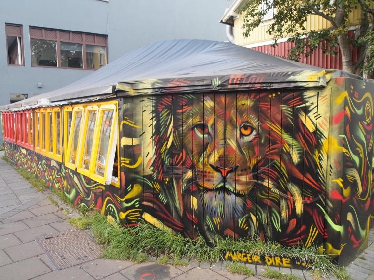 street art on Laugavegur