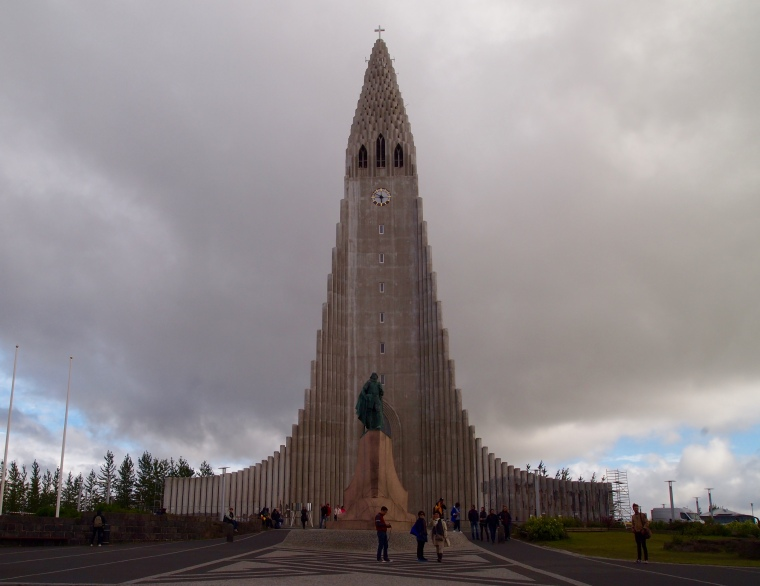 last view of Hallgrímskirkja