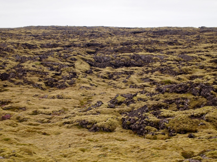 Iceland's volcanic past as captured in its landscape