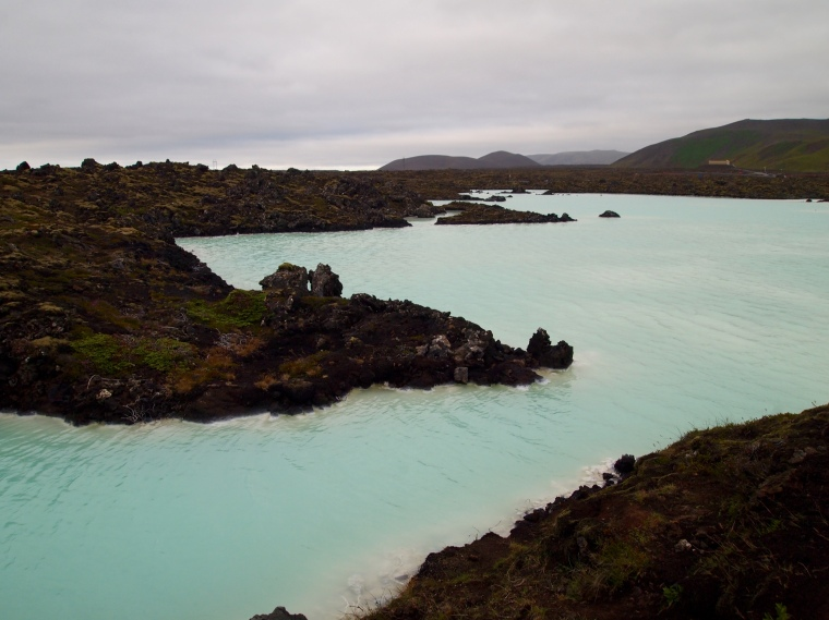 the natural surrounds of Blue Lagoon