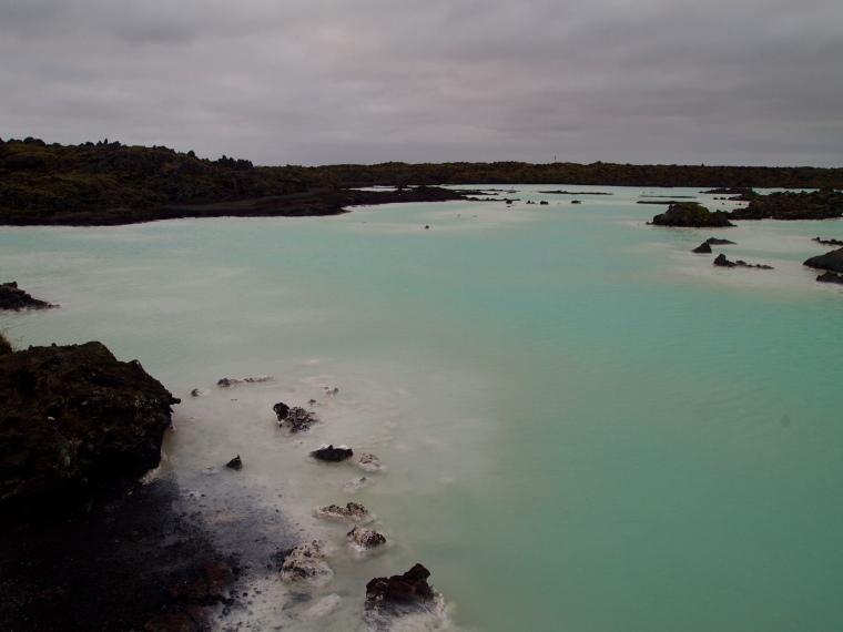 Blue Lagoon surrounds