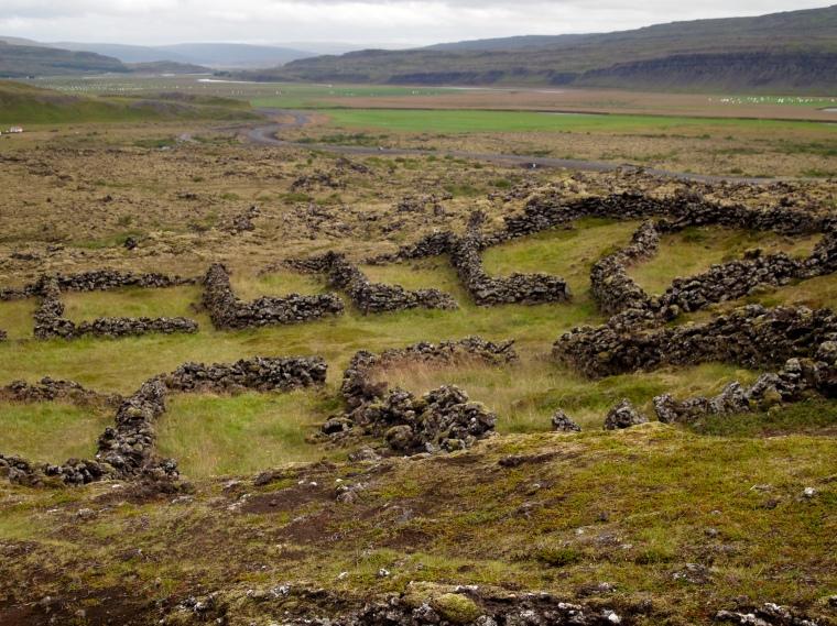 settlement ruins