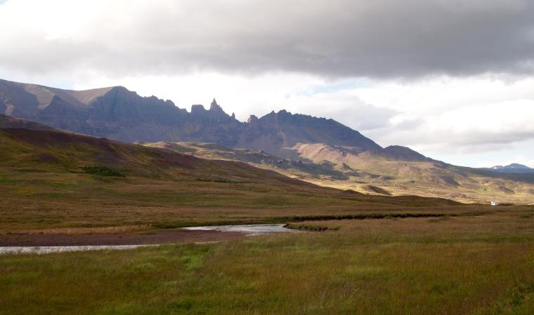jagged peaks along the way