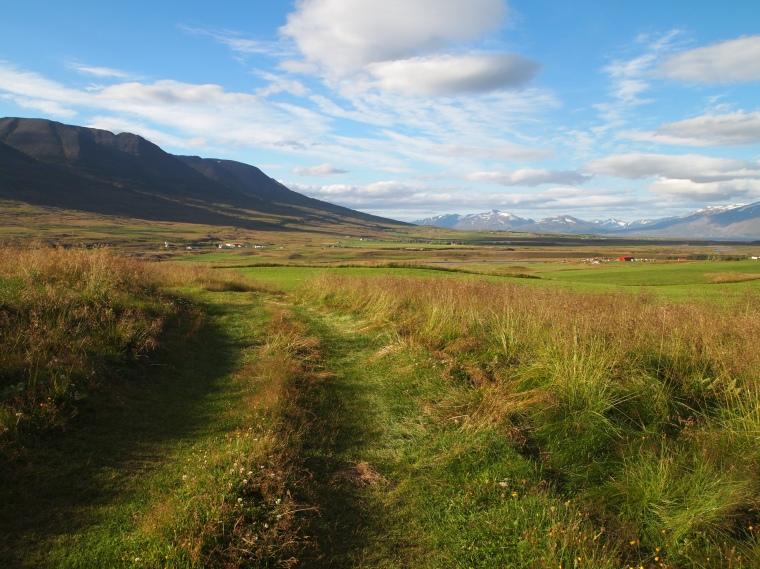 idyllic spot near the road to Dalvik