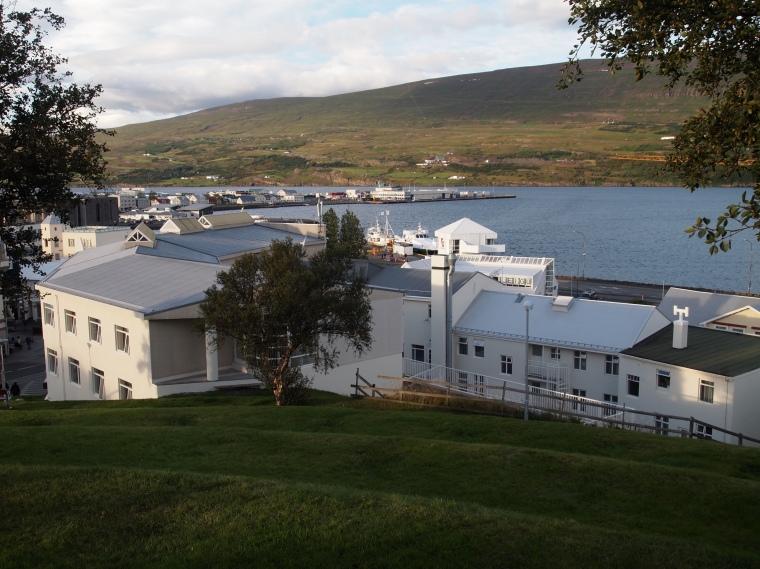 View of Akureyri from Akureyrarkirkja