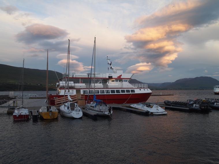 Eyjafjörður harbor