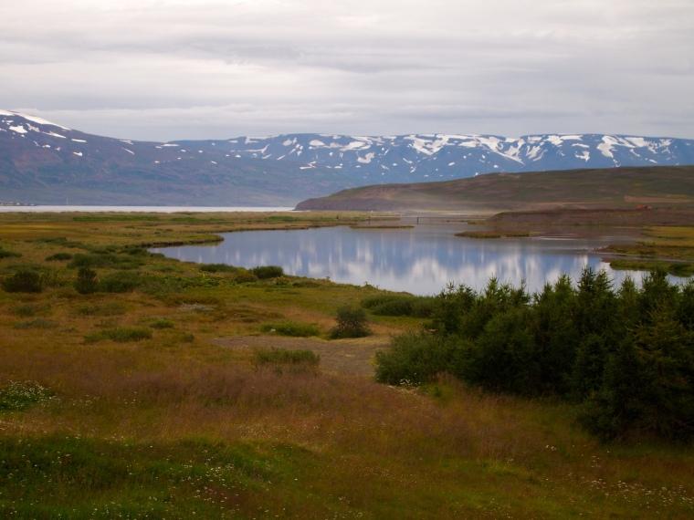 south of Dalvík
