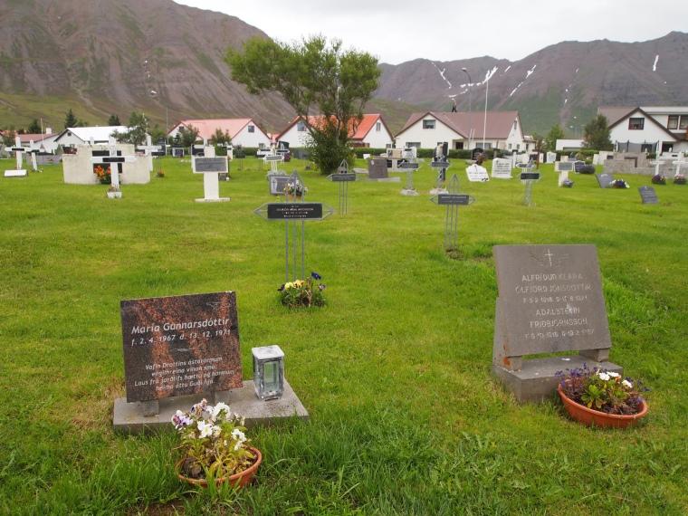 cemetery in Ólafsfjörður