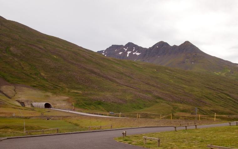 tunnel from Ólafsfjörður to
