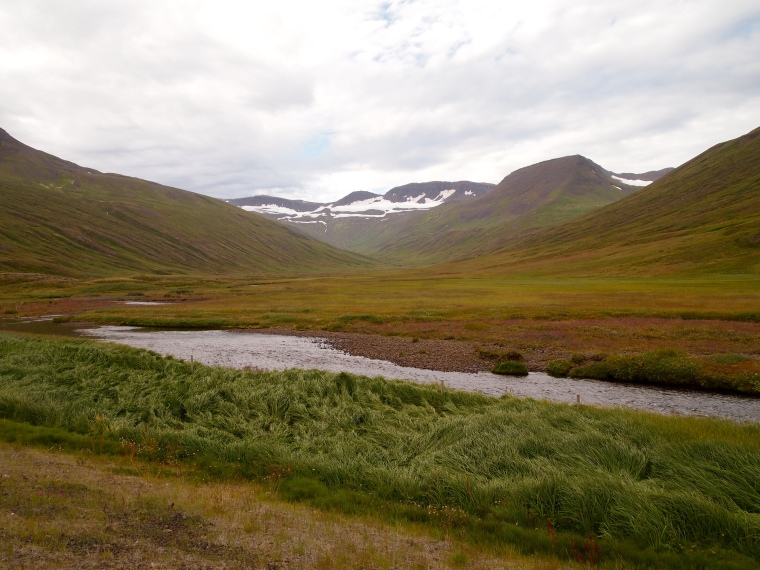 mountains near Héðinsfjörður