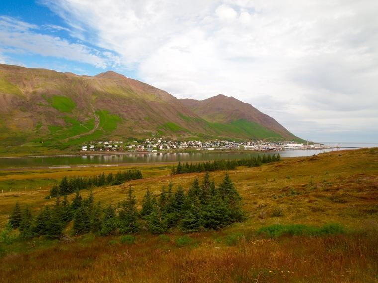first view of Siglufjörður