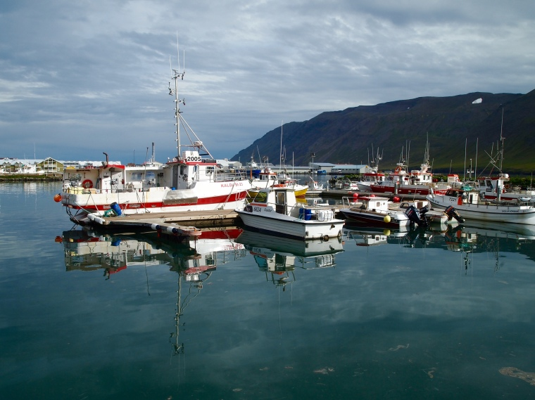 harbor at Siglufjörður