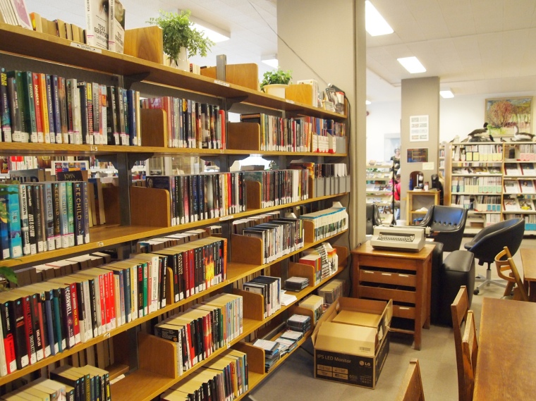 the library in Siglufjörður