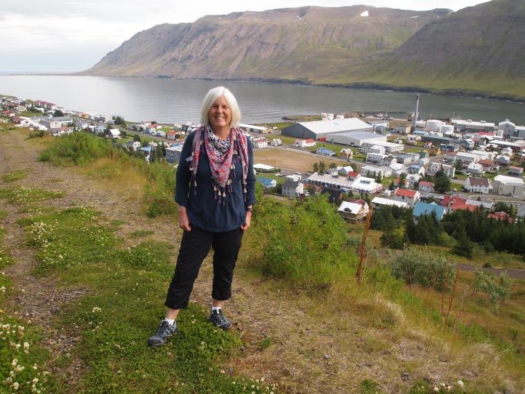 me above Siglufjörður