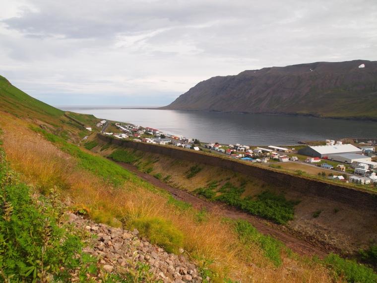 the avalanche walls of Siglufjörður