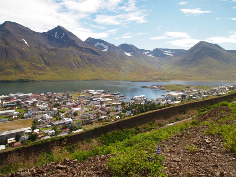 Siglufjörður and its avalanche walls