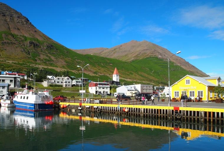 marina at Siglufjörður