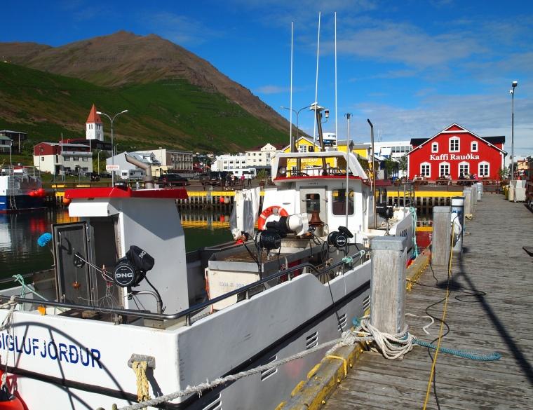 Siglufjörður marina