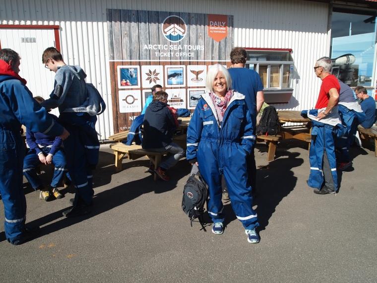 me in my Arctic suit