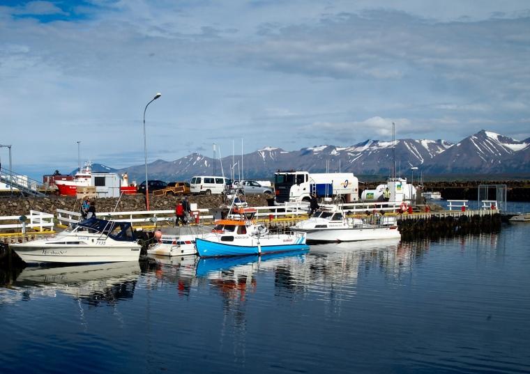 marina in Dalvík