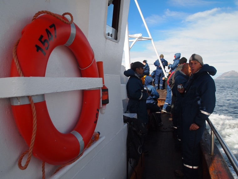 Aboard Draumur