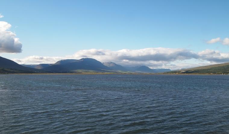 Eyjafjörður at Akureyri