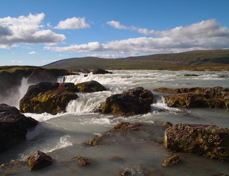 above Goðafoss