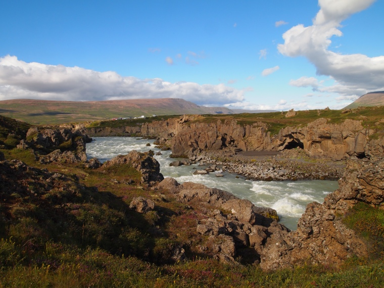 eastern viewpoint at Goðafoss
