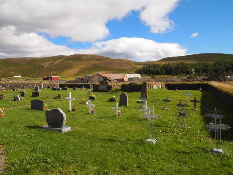 cemetery at Reykjahlíðarkirkja