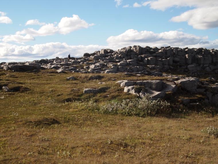 the walk to Selfoss