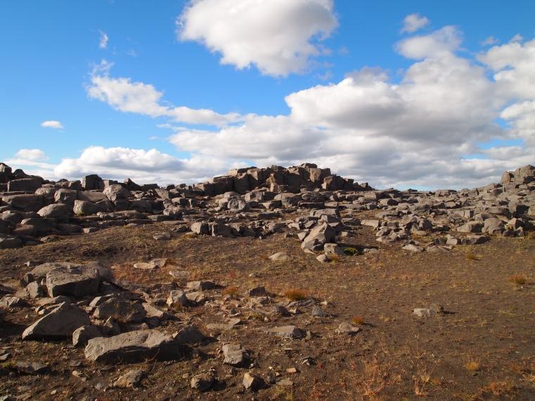 the barren walk to Selfoss